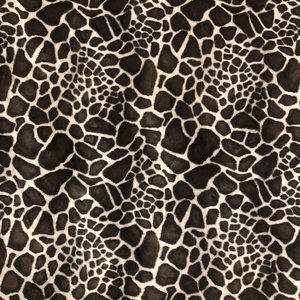 "Animal Print Plush Fabric Upholstery 43"" x 43"""